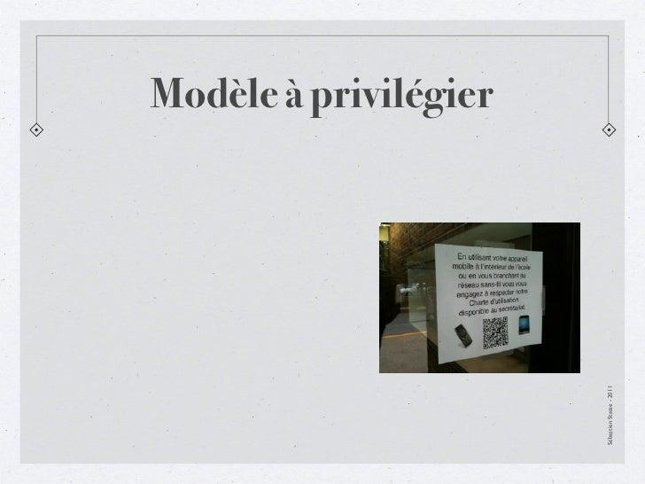 Modèle à privilégierSébastien Stasse - 2011