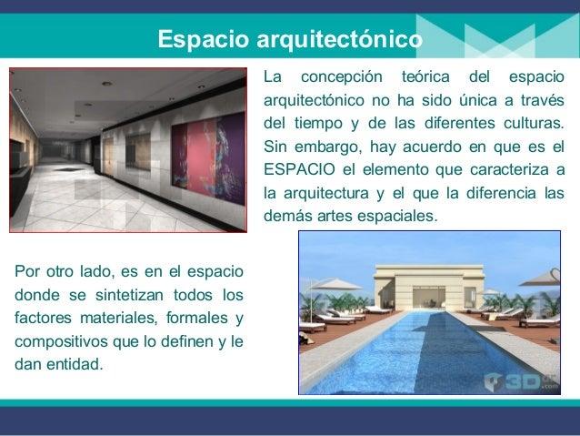 Espacio y volumen en la arquitectura for 5 tecnicas de la arquitectura