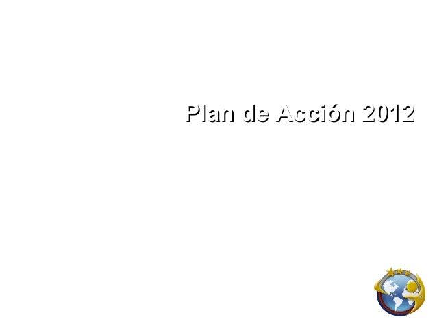 Plan de Acción 2012     International Networkers Team