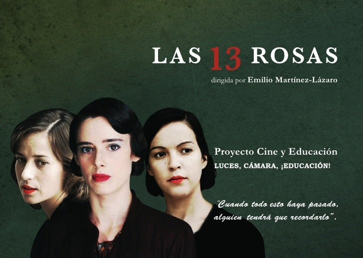 """dirigida por Emilio Martínez-Lázaro     Proyecto Cine y Educación LUCES, CÁMARA, ¡EDUCACIÓN!     """"Cuando todo esto haya pa..."""