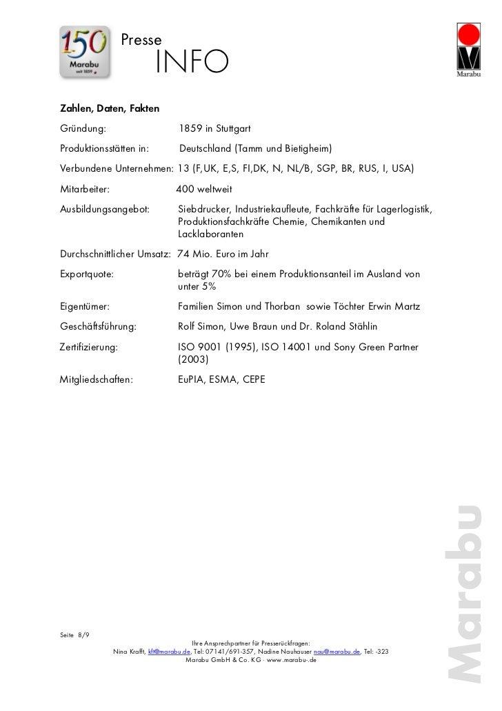 Presse                            INFOZahlen, Daten, FaktenGründung:                           1859 in StuttgartProduktion...