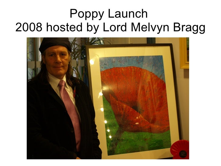 Poppy Launch  2008 hosted by Lord Melvyn Bragg