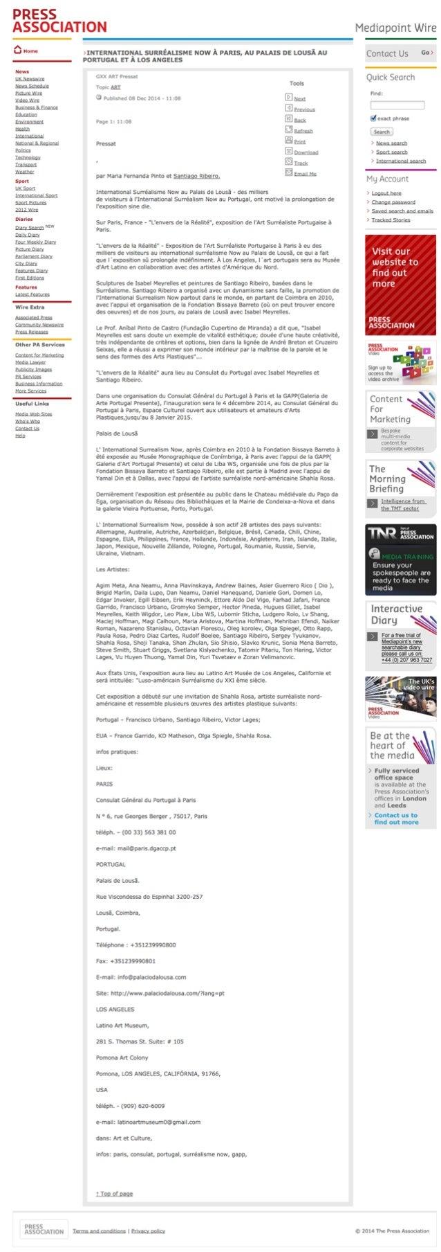 PRESS  ASSOCIATION  0.. ... .  PRESS ASSOCMYION  mrrenuanonat suitrteausue now A Imus,  AU PALAIS oe Lousl All  POITFUGALE...