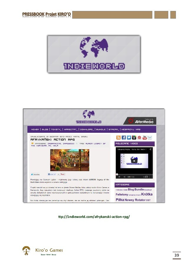 pressbook du projet kiroo du 23 09 2013. Black Bedroom Furniture Sets. Home Design Ideas