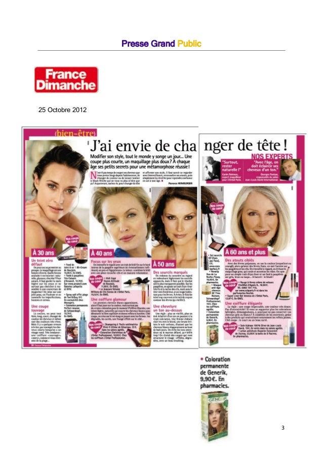 3 Presse Grand Public 25 Octobre 2012