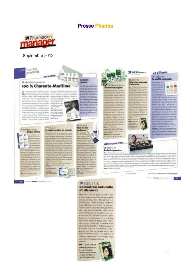 5 Presse Pharma Septembre 2012