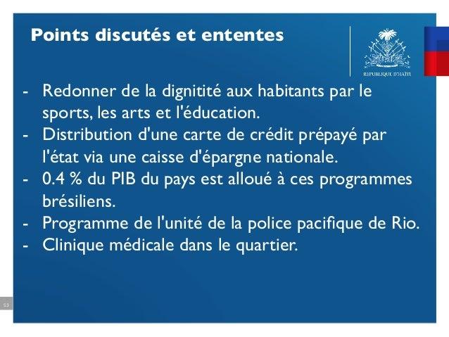 Bilan De La Visite Officielle Au Brsil Du Premier Ministre