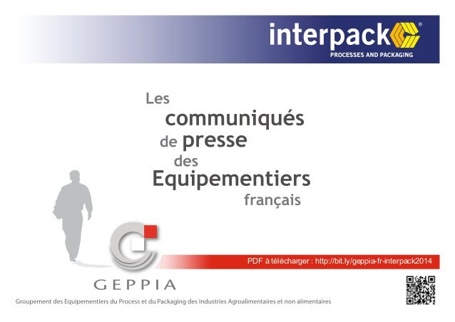 PDF à télécharger : http://bit.ly/geppia-fr-interpack2014