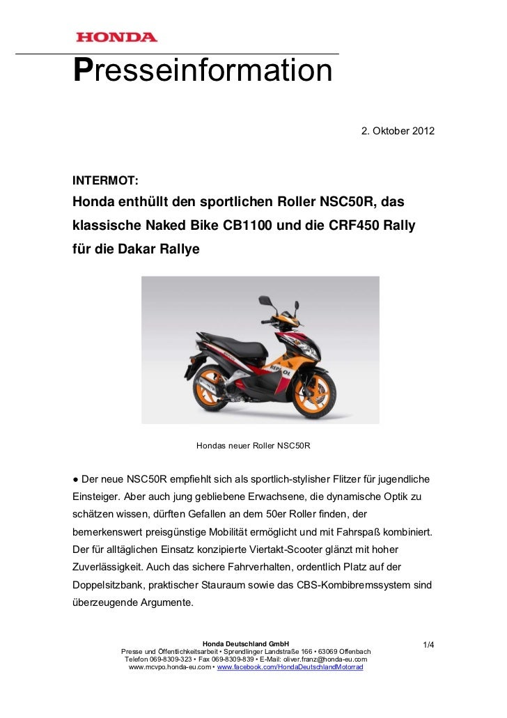 Presseinformation                                                                                        2. Oktober 2012IN...