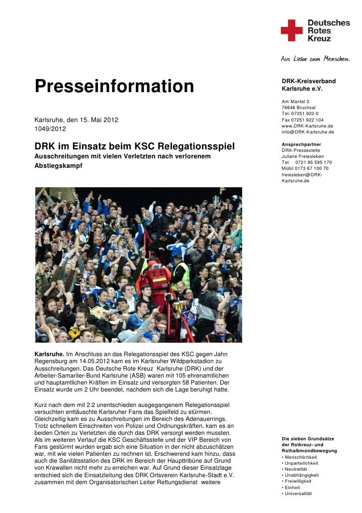 DRK-KreisverbandPresseinformation                                                           Karlsruhe e.V.                ...