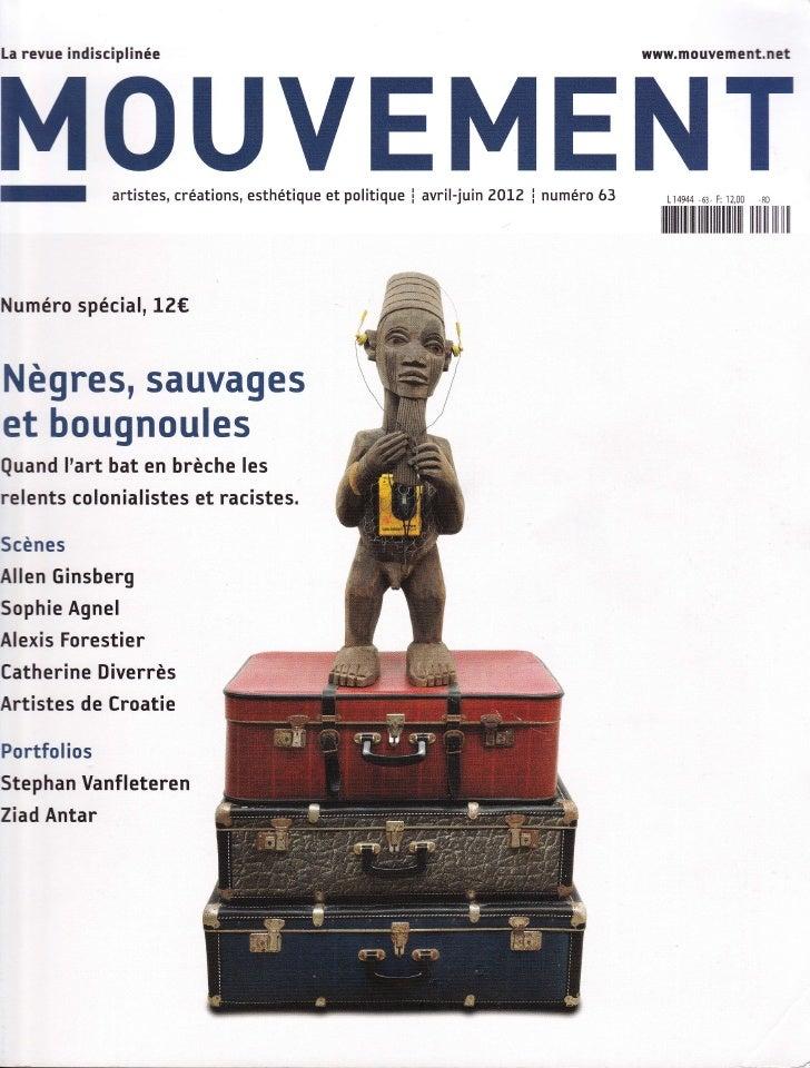 La revue ind isciplinée                                                                       www.mouvement.netM 0 UVEMENT...