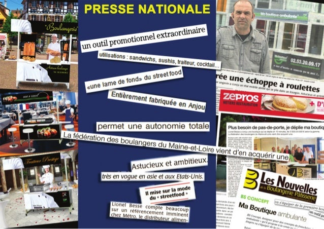 Articles de presse ma boutique ambulante / METRO