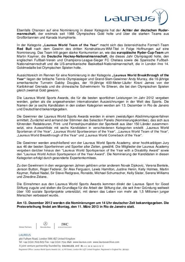 Pressemitteilung Chancen auf Nominierung für die Laureus World Sports Awards 2013.pdf Slide 2