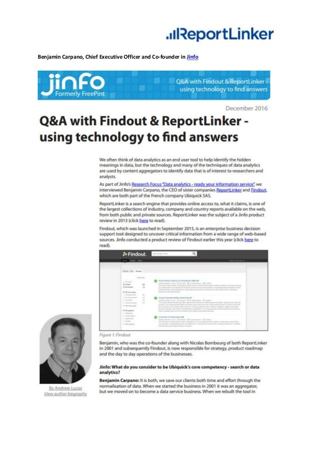 For more information, please visit http://www.reportlinker.com/. Media contact: Intissar Guettou igu@reportlinker.com T: +...
