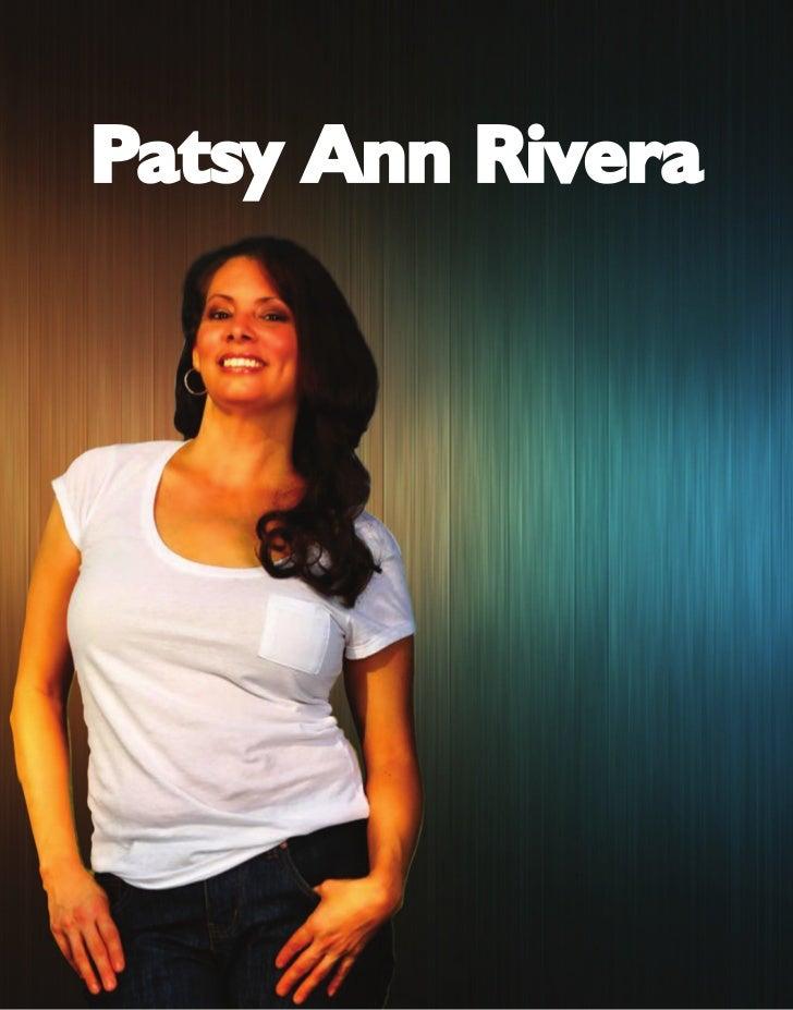 Press Kit Patsy Rivera Books
