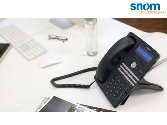 A propos de snom  Créée en 1996 Active dans le marché de la VoIP depuis 2000 15 années d'expérience en VoIP et SIP Base à ...