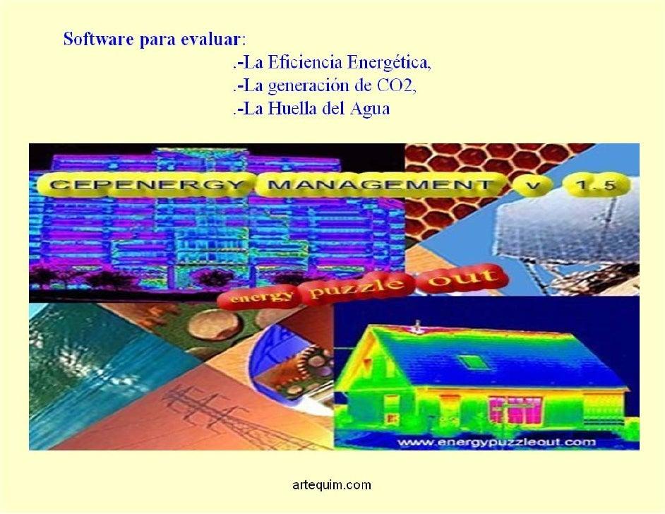 Eficiencia Energetica, software de gestion