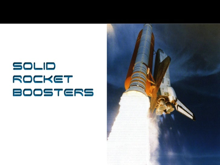 Solid Rocket Boosters