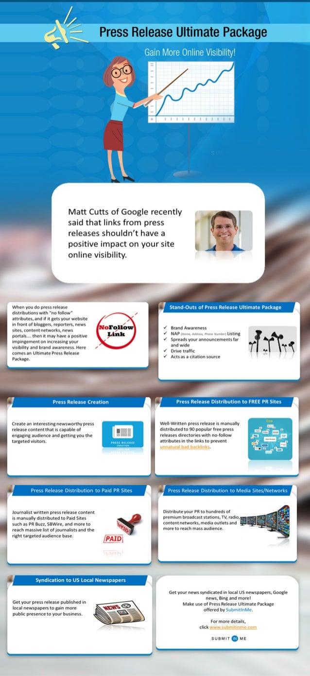 "Press Release Ultimate Package  Matt Cutts of Google recently  HI l-ll 1""» 1 ill l'- v'i: ;l'illiey.     said that links f..."