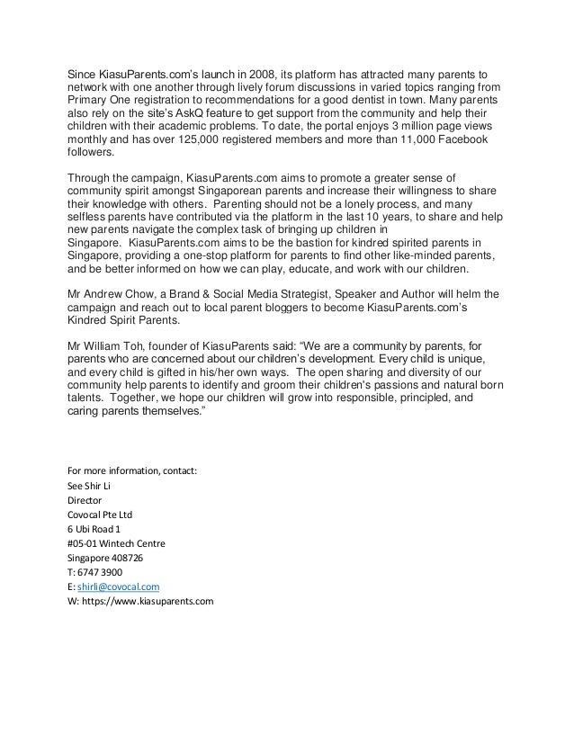 Kampong Spirit Parents - Press Release 20170522 Slide 2