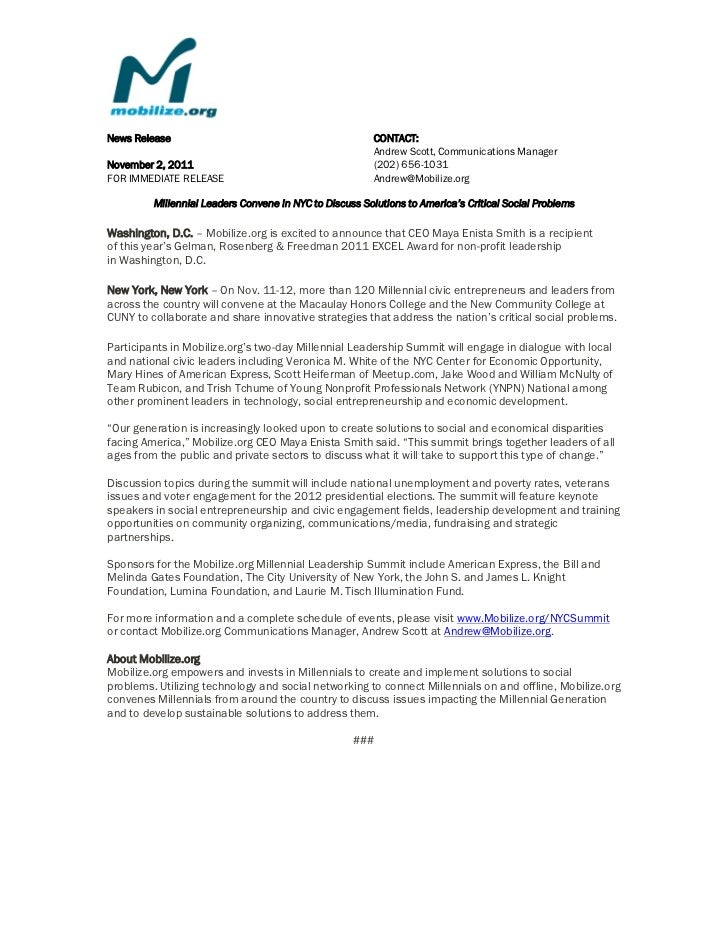 News Release                                             CONTACT:                                                         ...