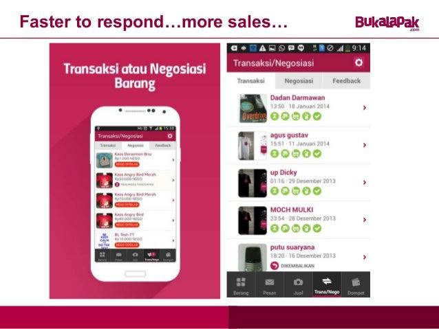 Bukalapak Mobile App on