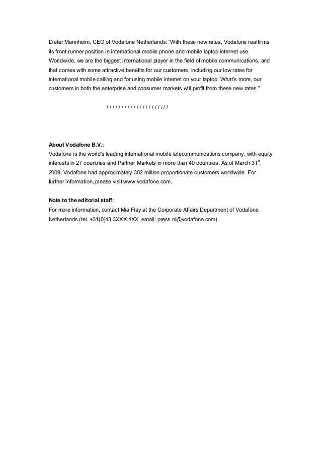 Copywriter Collective - Don - Press release sample