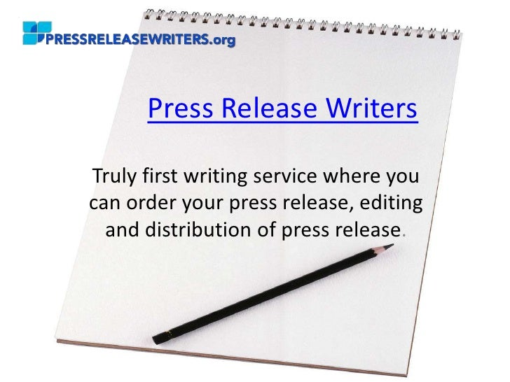 Press Release WritersTruly first writing service where youcan order your press release, editing  and distribution of press...