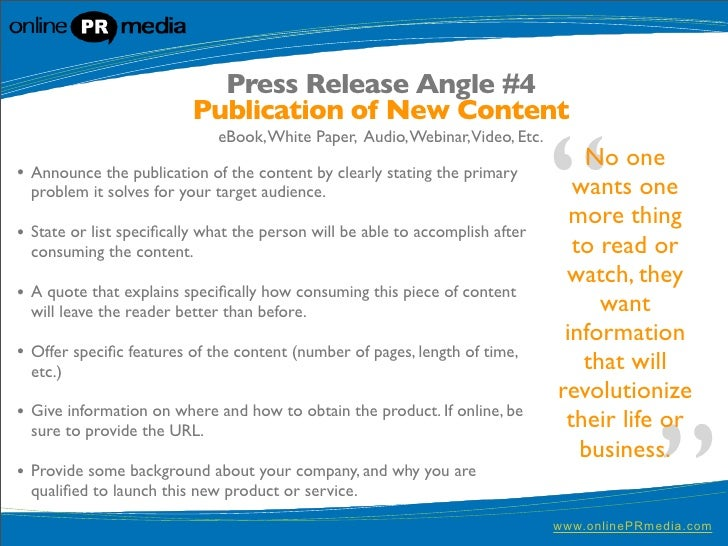 Press Release SEO: Writing Press Releases Effectively for Search Engines