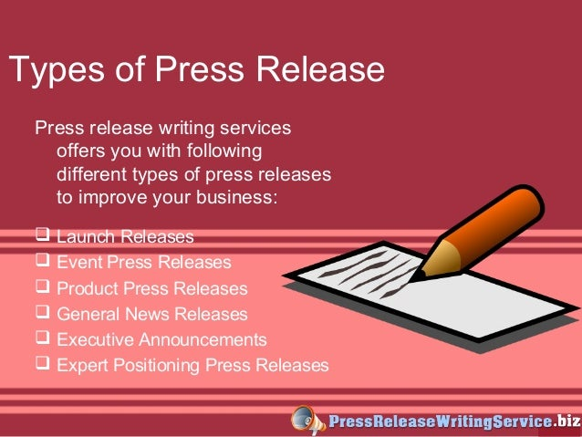 Press releases writing services tips