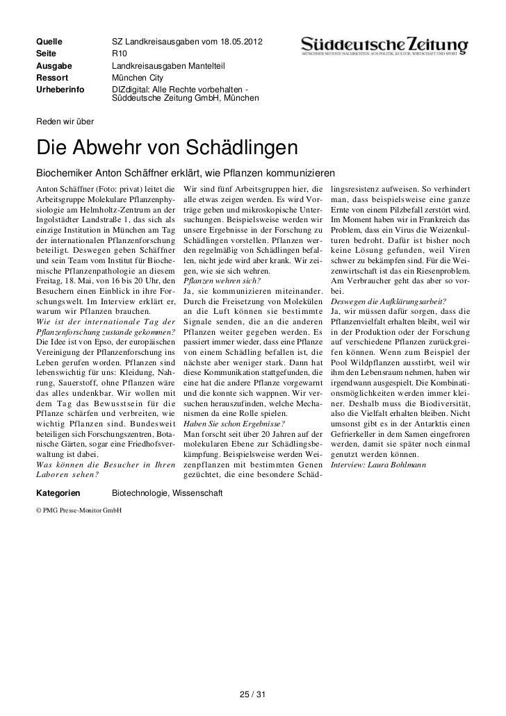 Quelle                SZ Landkreisausgaben vom 18.05.2012Seite                 R10Ausgabe               Landkreisausgaben ...
