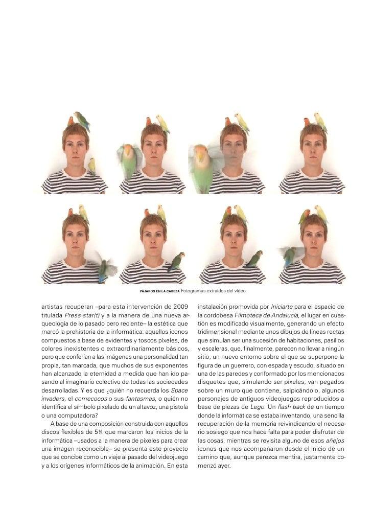 C.V.VERÓNICA RUTH FRÍASCYRO GARCÍAEnglish texts.INTRODUCTIONFLOWER PIGS, LOVEBIRDS AND SOME VIDEOSVERÓNICA RUTH FRÍAS C.V....