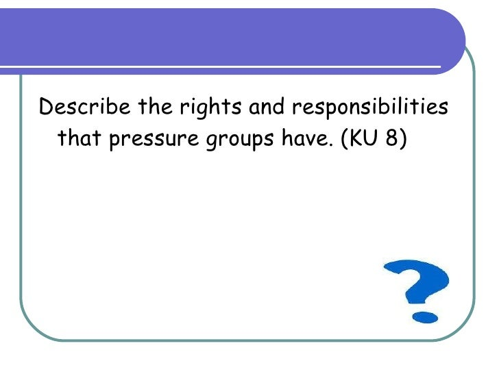 pressure group