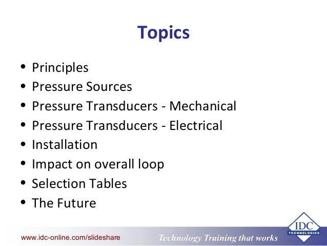 Pressure Measurement Slide 3