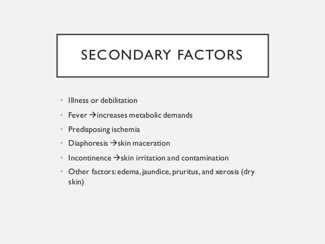Pressure sore diagnosis and management for medical student