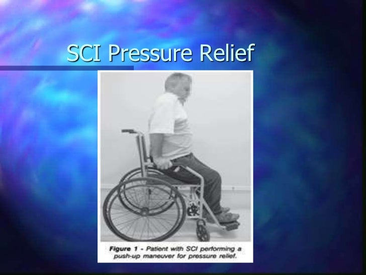 The relieving of pressure ulcer