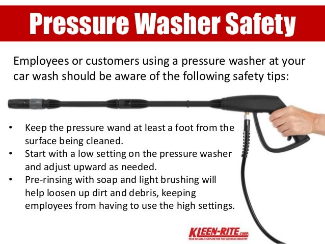 Which Car Wash Setting Has Soap In Pressure Washer