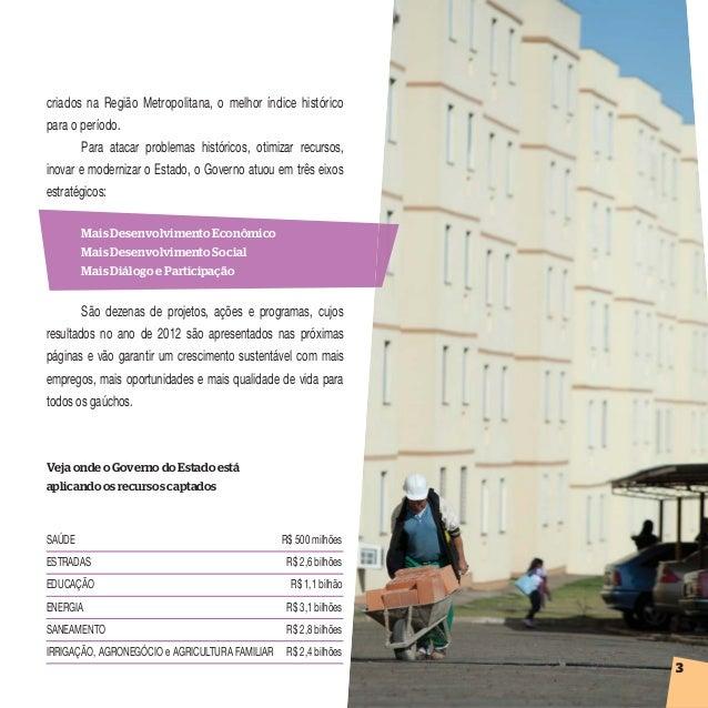 Prestação de Contas 2012 Rio Grande do Sul - Região 7 Slide 3