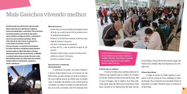Prestação de Contas 2012 Rio Grande do Sul - Região 8 Slide 2
