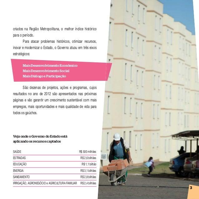 Prestação de Contas 2012 Rio Grande do Sul - Região 8 Slide 3