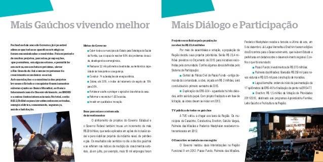 Prestação de Contas 2012 Rio Grande do Sul - Região 9 Slide 2
