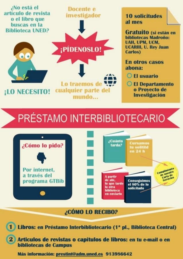Préstamo interbibliotecario: un servicio para conseguir el documento que quieres