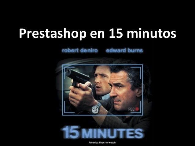 Prestashop en 15 minutos