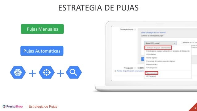 Estrategia de Pujas 19 ESTRATEGIA DE PUJAS Pujas Automáticas Pujas Manuales + +