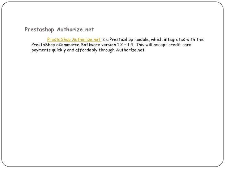 Prestashop Shopping Cart Extensions - eGrove Systems slideshare - 웹