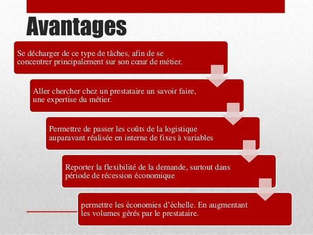 Prestataires logistique - Avantage et inconvenient ...