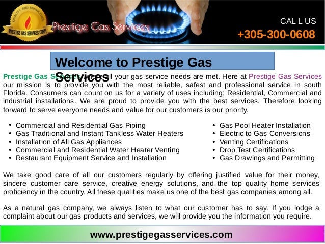 gas tankless water heater installation miami
