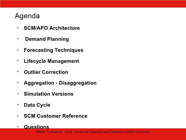 Prestiva - SAP Advanced Planning And Optimizer Overview Slide 2