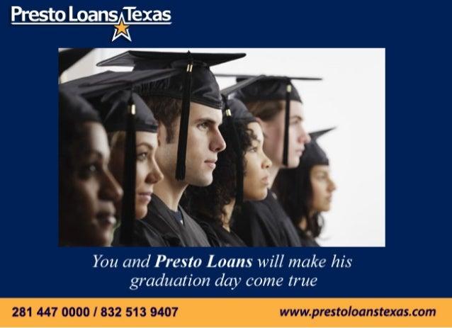 Prestoloans student loans