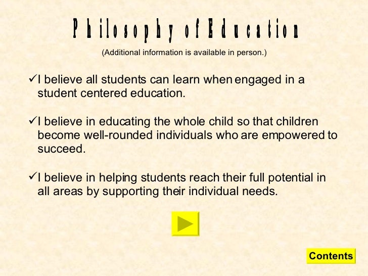 """Accomplished teachers believe that all children can learn ..."